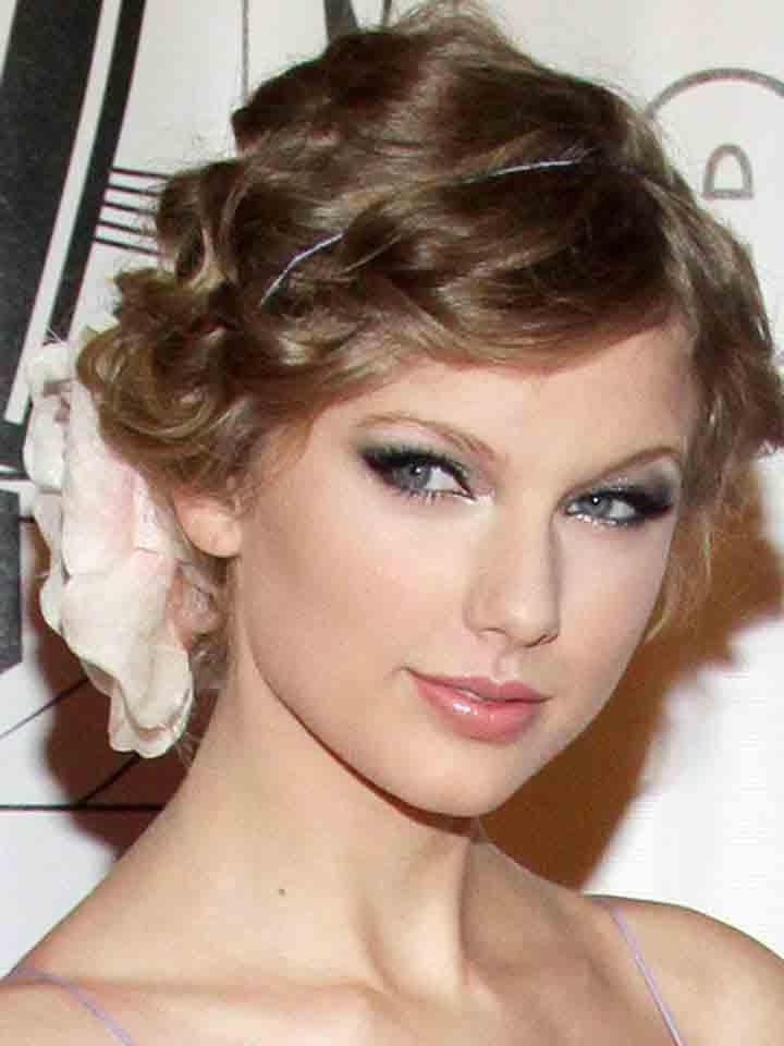 ladies fashion fun celebrities updo girls hairstyles 2013