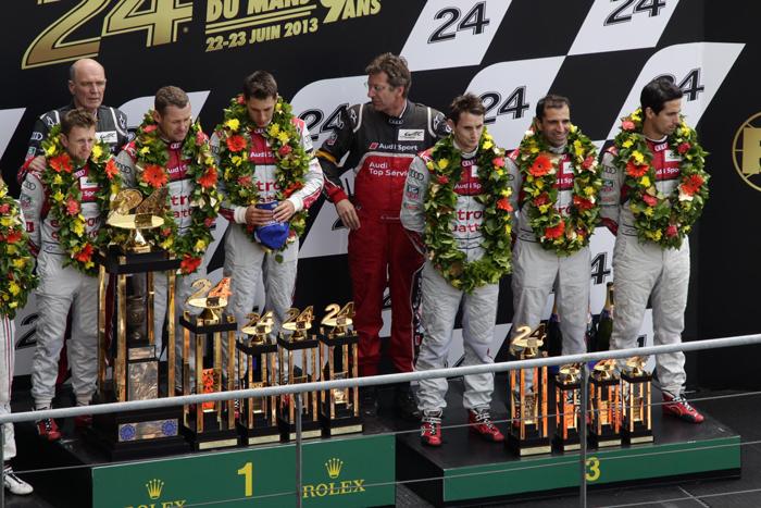 24 Horas de Le-Mans 2013 - Retriunfo de Audi