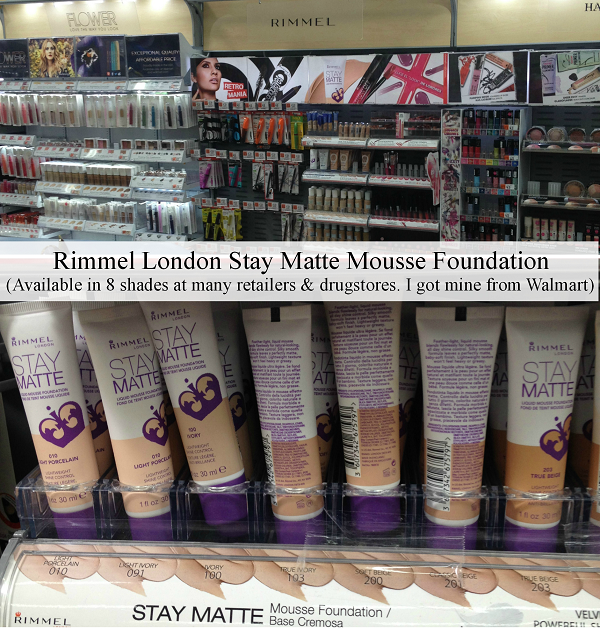 Rimmel Stay Matte mousse foundation review, Scandaleyes Retro Glam Mascara #Shop #Cbias