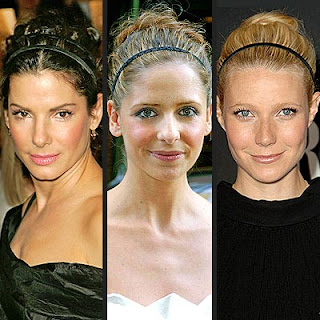 Hairstyles with Headbands - Celebrity Hairstyle Ideas for Girls