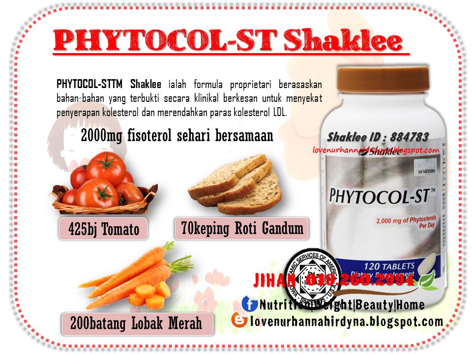 vitamin shaklee untuk halang kolesterol