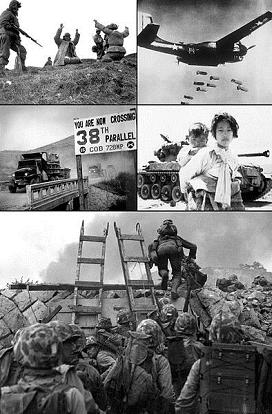 GUERRA DE COREA (25/06/1950 - 27/07/1953)