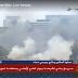 بالفيديو..اندلاع حريق فى نادى أكاديمية الشرطة بجوار الأهلى