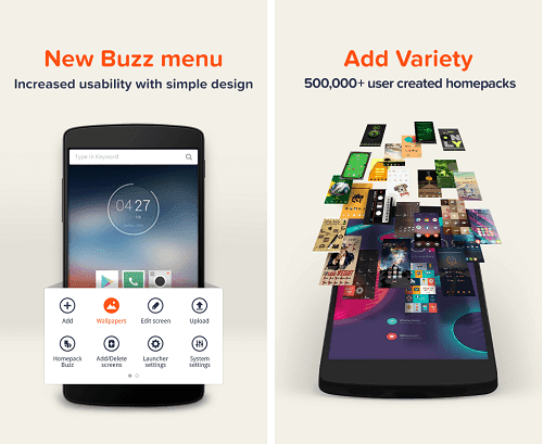 Download Buzz Launcer Apk Full Version
