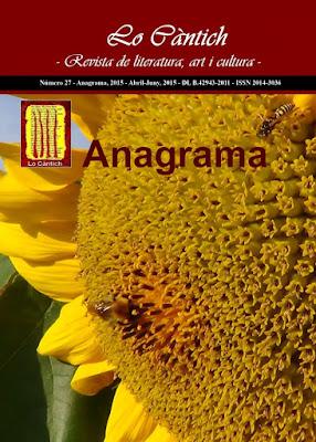 Lo Càntich - Número 27 - Anagrama, 2015
