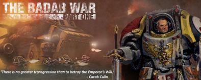 The Badab War Part 1