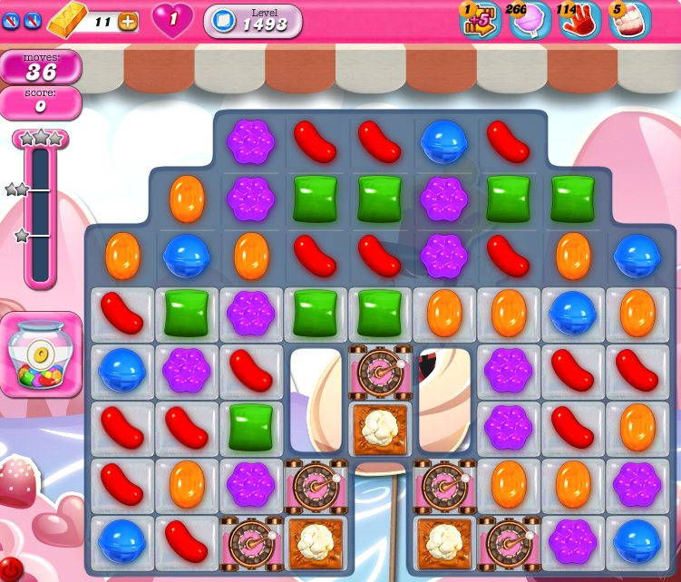 Candy Crush Saga 1493