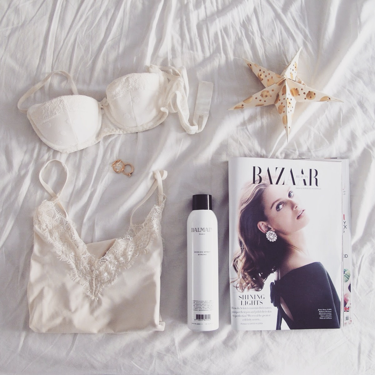 weekend essentials, shop rajic, rosemunde, balmain hair couture, melanie auld designs, david j. butler