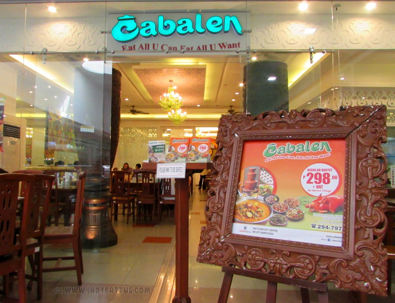 Buffet Meal at Cabalen's Restaurant, SM North