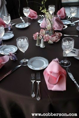 cobberson budget wedding centerpieces