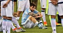 COPA AMÉRICA Y Leo terminó llorando su desgracia