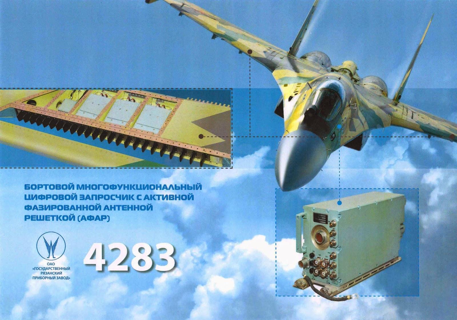Novedades Sukhoi SU-35 Su-35%2Bradar%2Bbanda%2BL