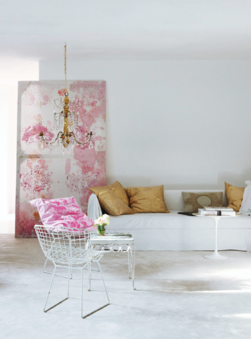 Pinklet and c pink gold glitter - Pink and gold living room ...