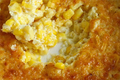 Old Fashioned Southern Creamed Corn Bake