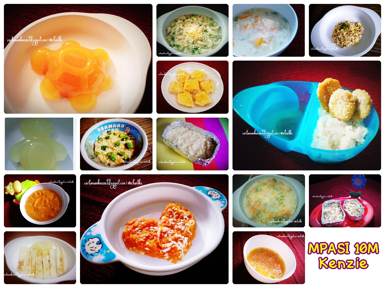 Bayi 10 Bulan Makan Nasi Lembek