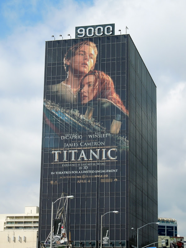 Titanic movie billboard