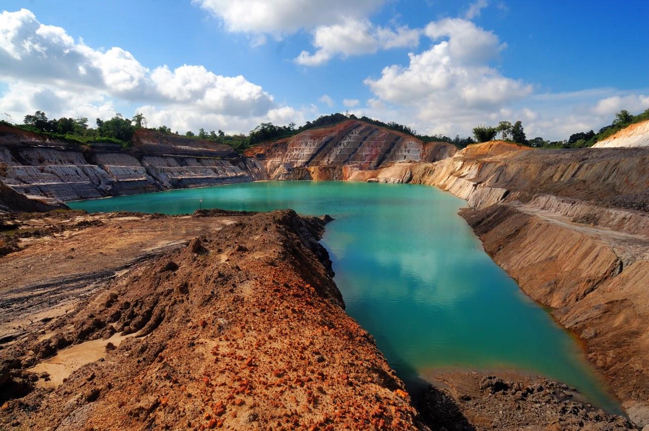 Air di Kalimantan Tercemar Pertambangan Batubara
