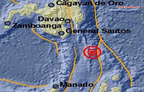 Gempa 5,3 SR Guncang Talaud Sulawesi Utara 24 September 2012