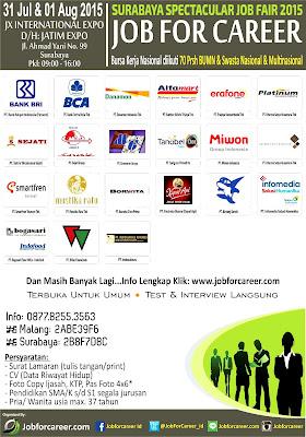 Jadwal Job Fair di Surabaya Juli 2015