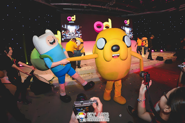 Adventure Time comes alive at Astro OD Launch!! So cute!!