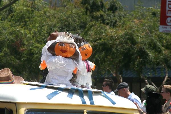 Dora the Explorer Wedding LA Pride Parade 2013