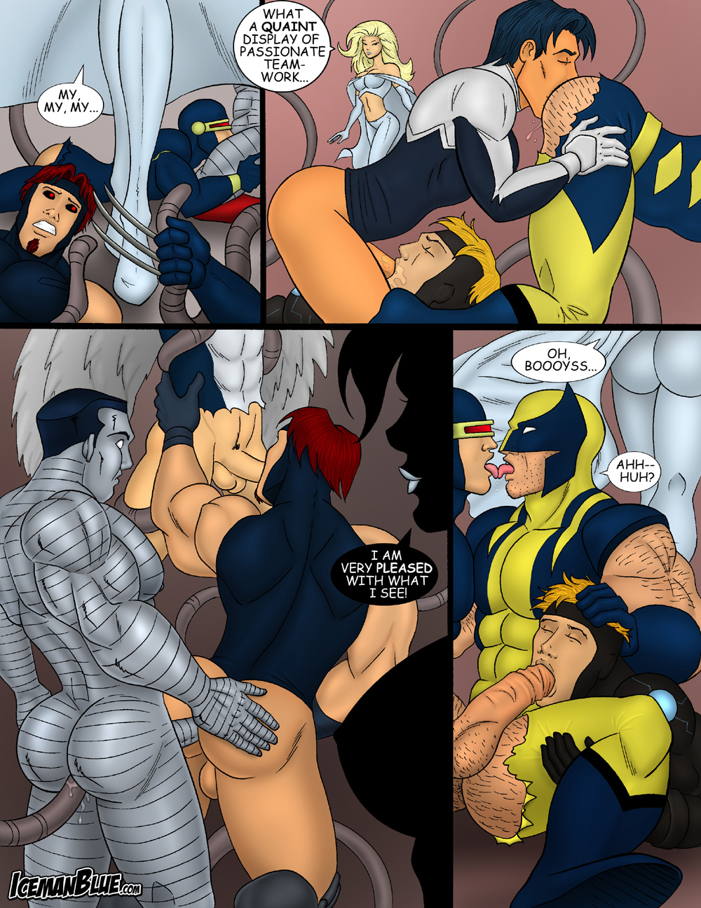Wolverine and rogue porn sexy photo
