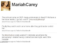 mariah carey tweet her pregnancy, New Habits Of Pregnant Women