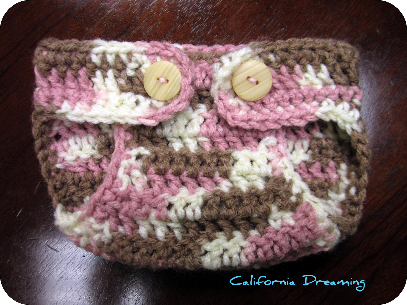 Newborn Baby Diaper Cover Crochet Pattern Free : California Dreaming: Crochet Diaper Cover