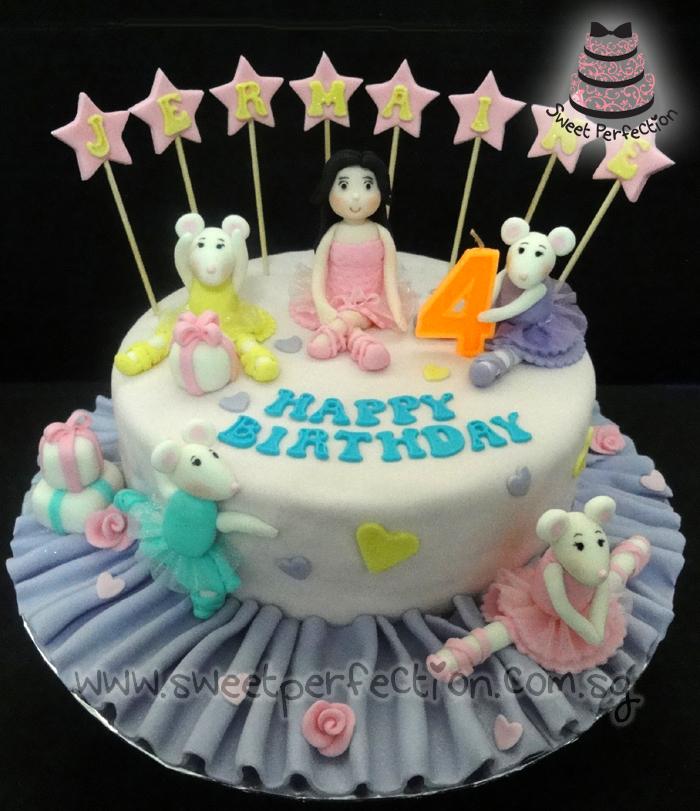 Sweet Perfection Cakes Gallery Code Angelina Ballerina 01