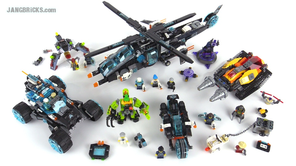 lego ultra agents all five 2015 sets together wrapup video