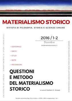 Materialismo Storico. La rivista online.