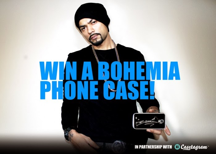 Win a BOHEMIA Casetagram custom case!