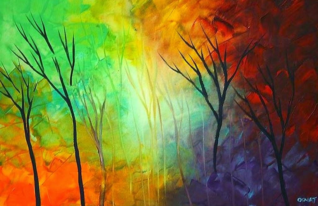 Pintura moderna y fotograf a art stica cuadros f ciles - Cuadros para principiantes ...