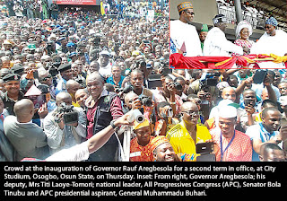 Aregbesola second term in office inauguration