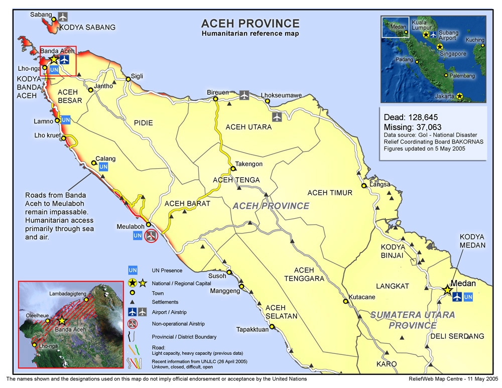 Let's Be MUSLIM Scholars: Aceh Map