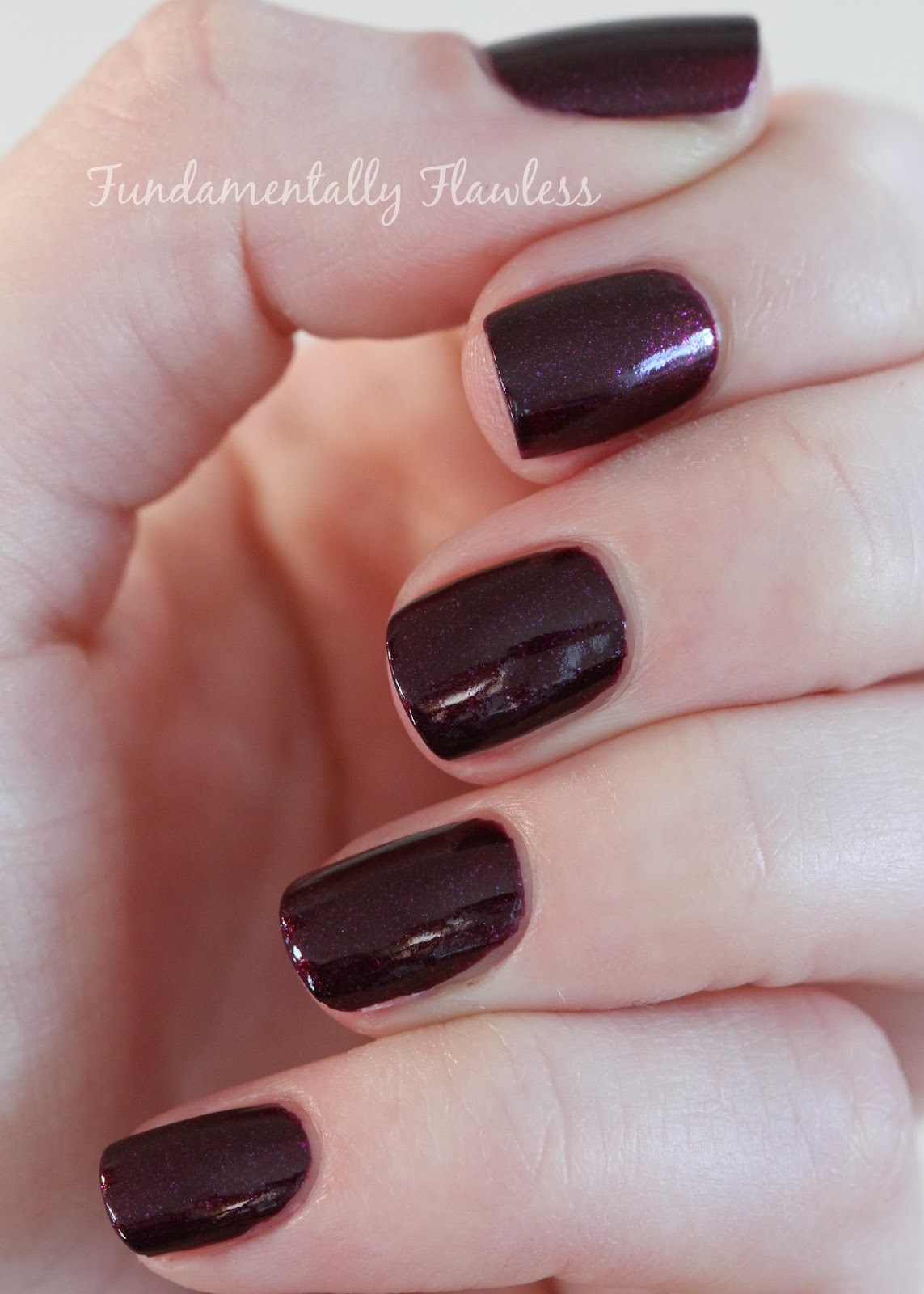 Morgan Taylor Glam Rock Rebel With A Cause swatch