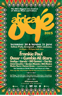 Africa Oye North West Acts Support Slots 2015 Festival