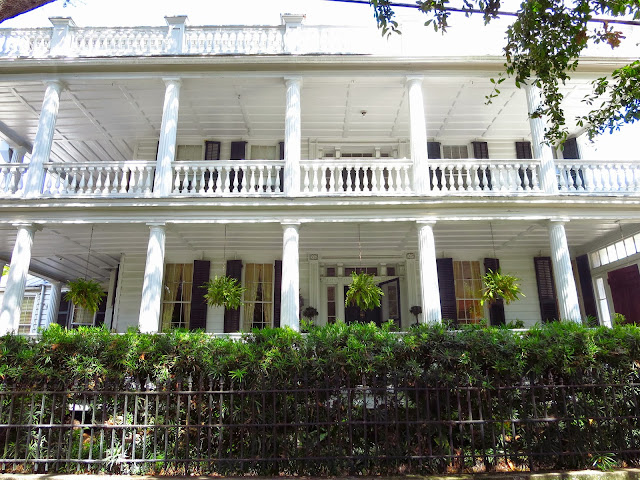 Exterior of a home in Charleston, South Carolina