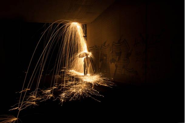 Pintura com luz | fotografia de Simon Berger