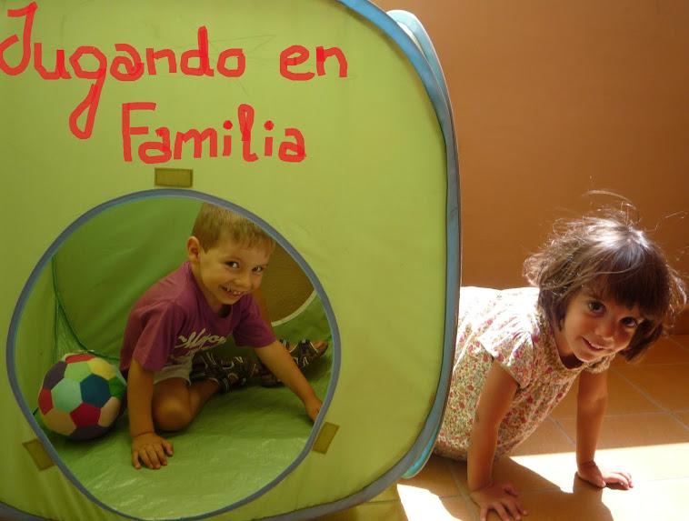 Jugando en familia, creando vínculos
