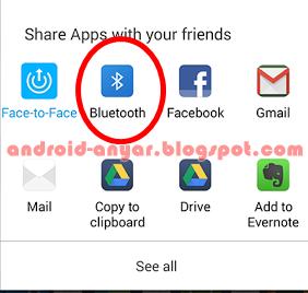 Cara Mengirim APK Game Android dengan Bluetooth ke Android Lain