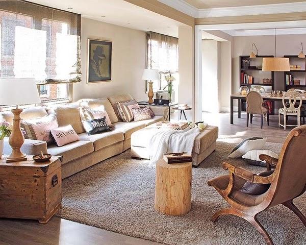 Dise o de interiores arquitectura apartamento en barcelona luminoso y acogedor - Diseno interiores barcelona ...