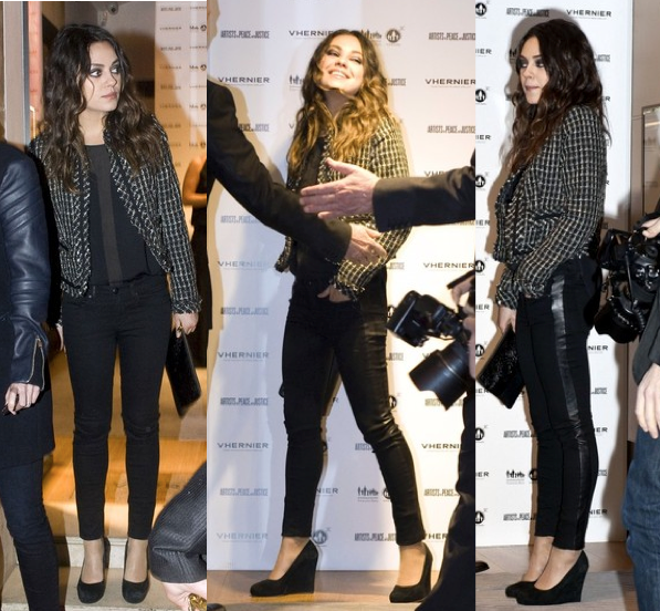 Mila Kunis LUA leggings luv u always