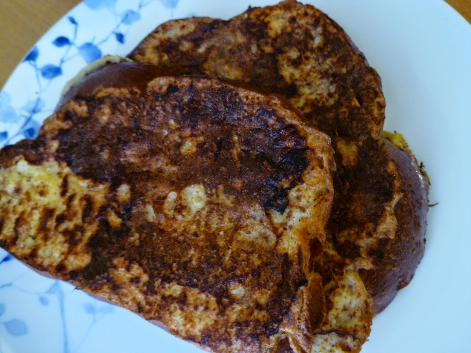 Fluffy French Toast - made April 11, 2015, adapted from Black Jack ...
