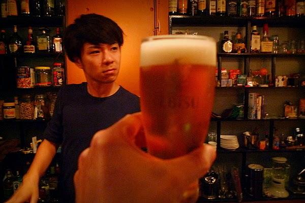 四条大宮スピナーズ 生ビール2杯め