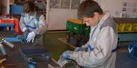 Stagiarii Renault Romania de la Liceul Tehnologic de Constructii Masini Mioveni