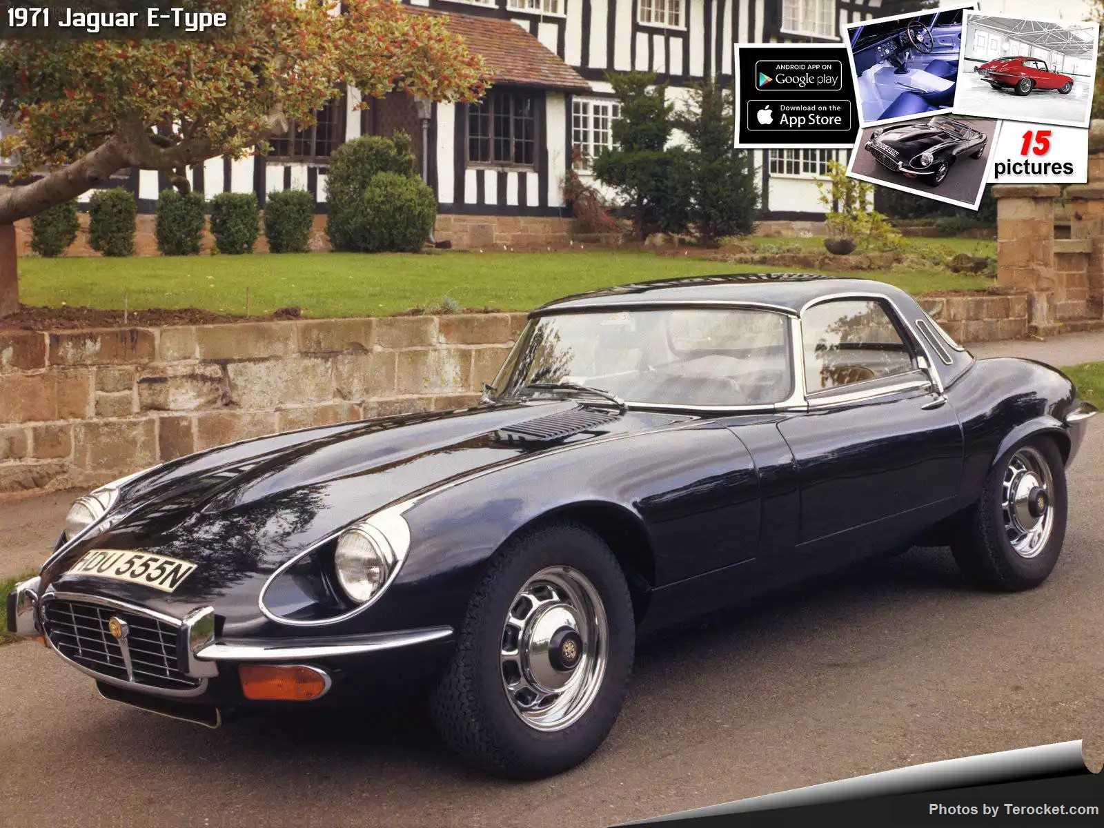 Hình ảnh xe ô tô Jaguar E-Type 1971 & nội ngoại thất