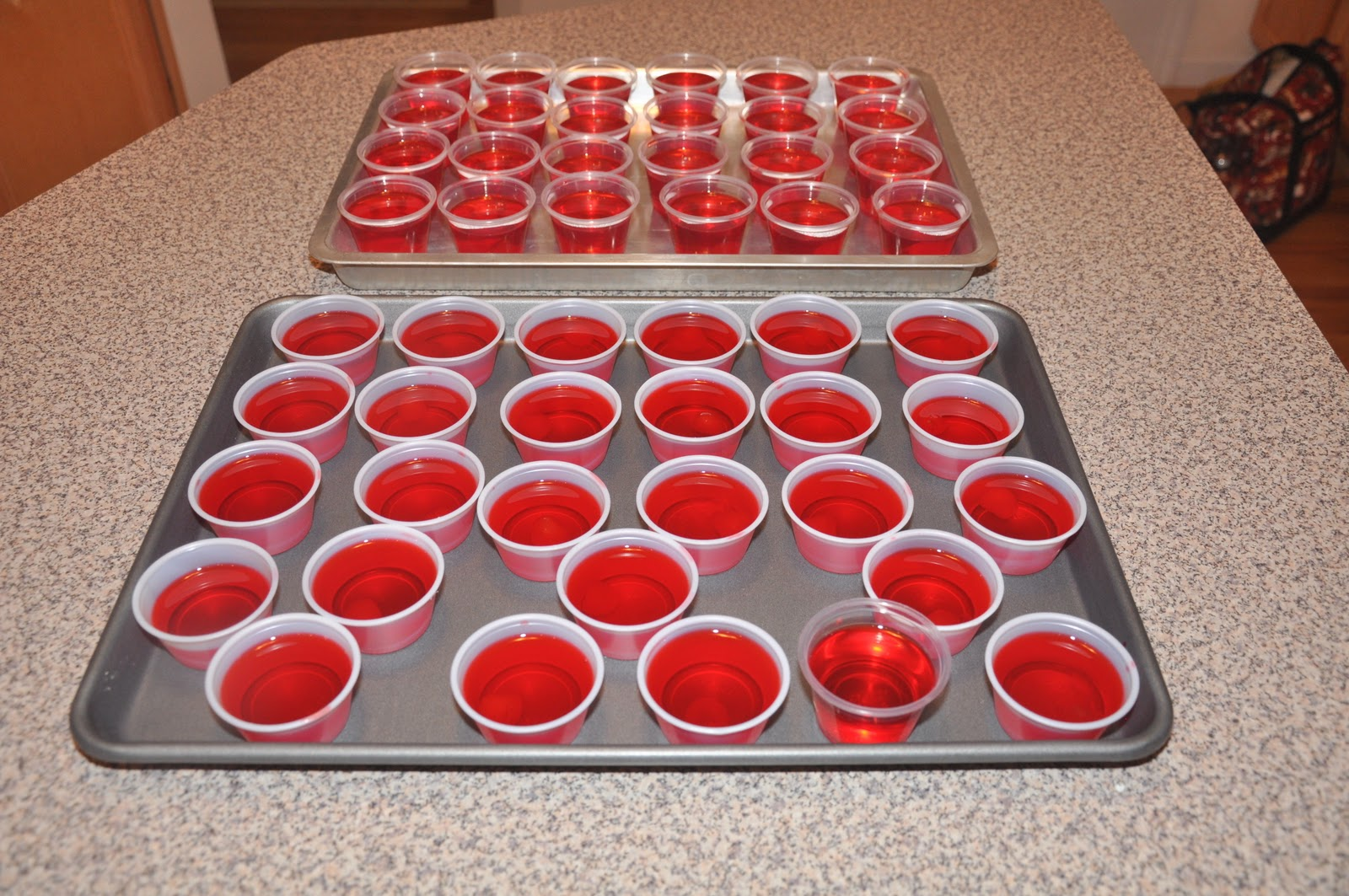 Barbs Cats And Quilts Chocolate Covered Cherry Jello Shots