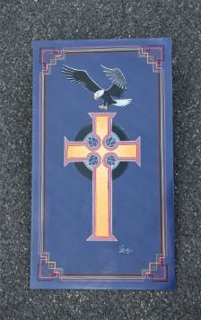Eagle and Cross