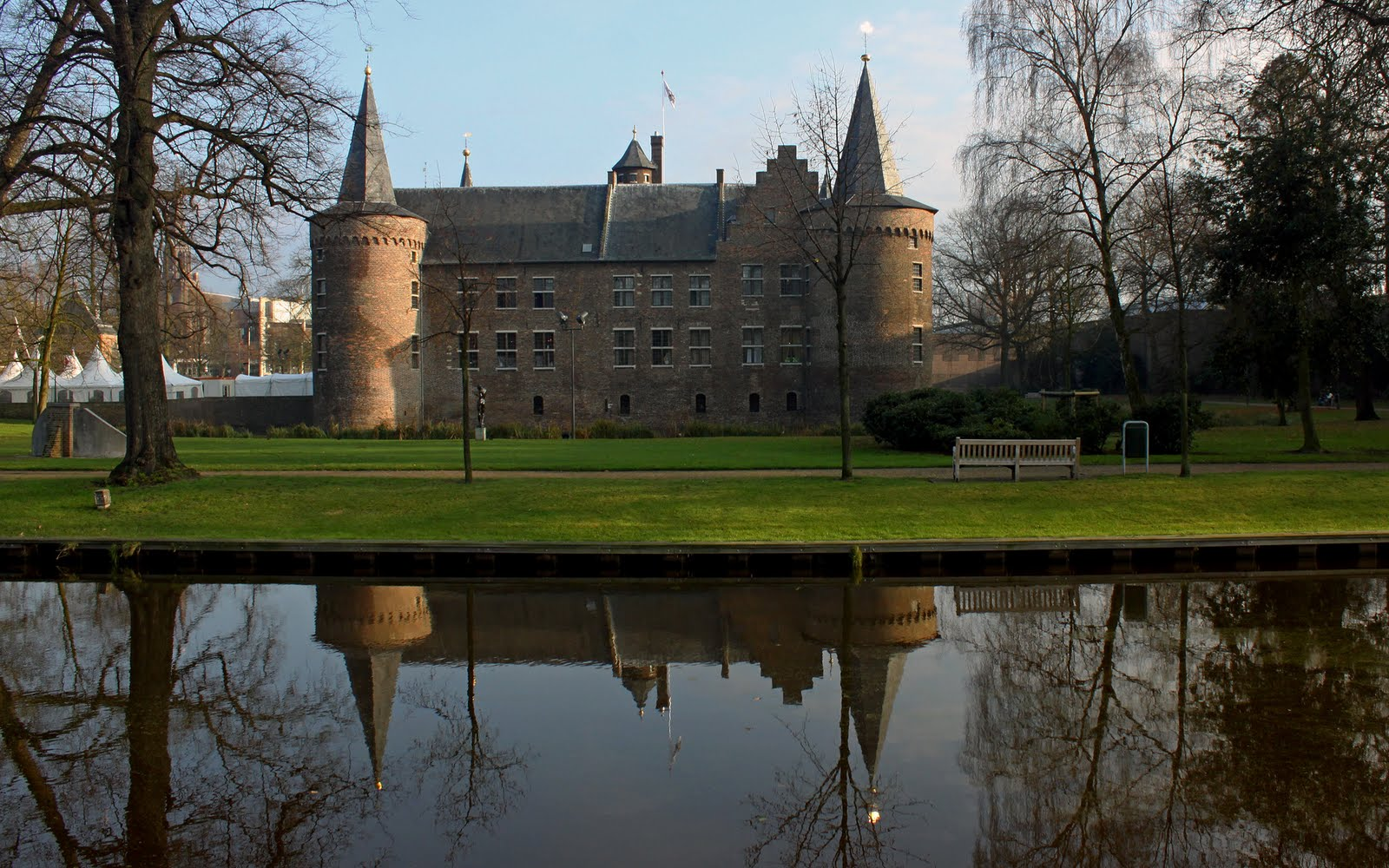 Kasteel Helmond Helmond Nederland Toptienkastelen